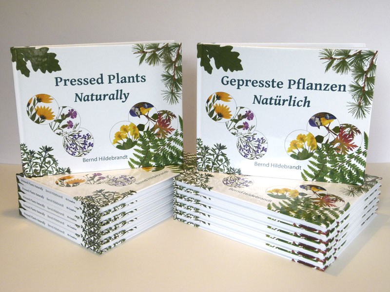 "Shop - Pressed Plants ""Naturally"", English and German Editions"